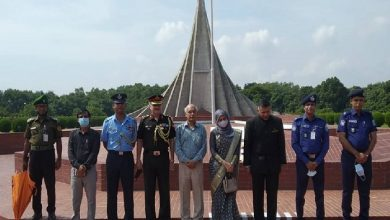 Photo of Doraiswami pays tribute to martyrs