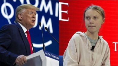 Photo of Greta hits back Trump
