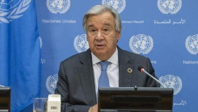 Photo of UN chief for stand against climate disruption