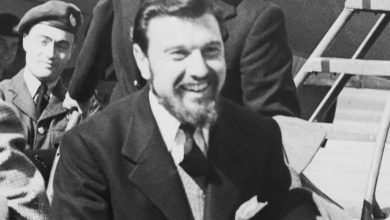 Photo of British-Soviet double agent Blake dies
