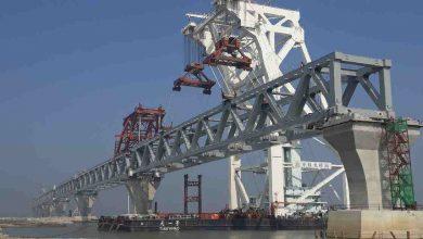 Photo of Padma bridge gets final span