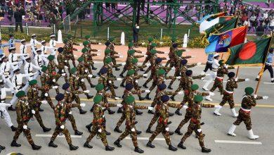 Photo of Bangladesh contingent in India parad