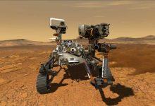 Photo of Nasa rover lands in Mars
