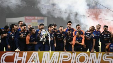 Photo of India clinch T20 series