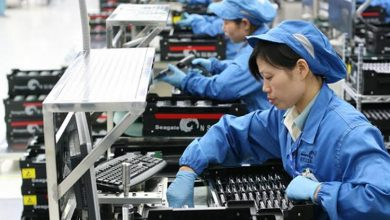 Photo of Factory activities down in China