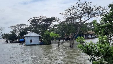 Photo of Tidal surges on Bangladesh coast