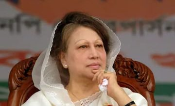 Photo of Khaleda Zia can't go abroad