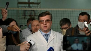 Photo of Navalny's physician goes missing