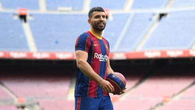 Photo of Barca sign Aguero