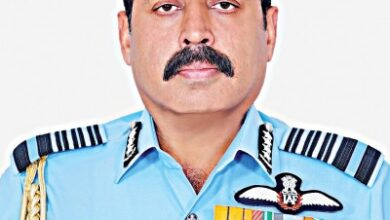 Photo of Indian Air Force chief in Dhaka