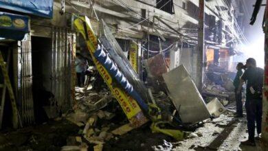 Photo of Probe body on Moghbazar explosion