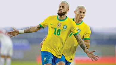 Photo of Neymar closes to Pele's record