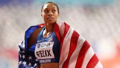Photo of Golden girl Felix readies for Olympic