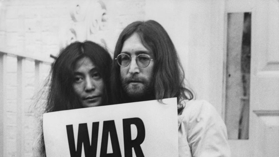 John Lennon Honored On United Nations Stamps To Mark International Day Of Peace