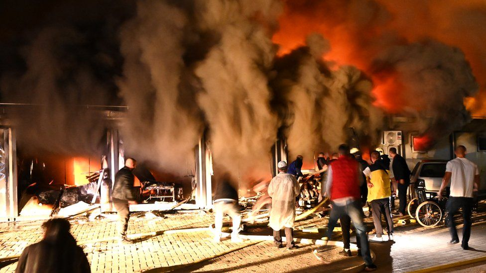 Ten dead in fire at Covid 19 hospital in North Macedonia