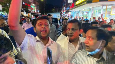 Photo of Awami League-BNP Clash In New York city