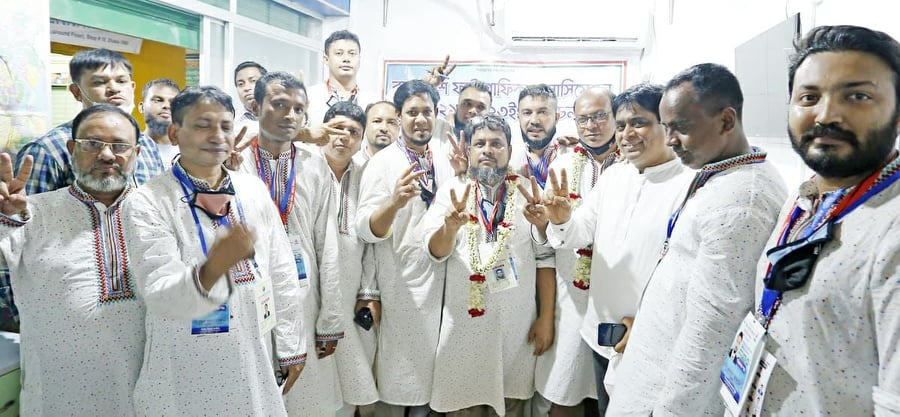 Democratic Council won a landslide victory in the election of Bangladesh Photographic Association