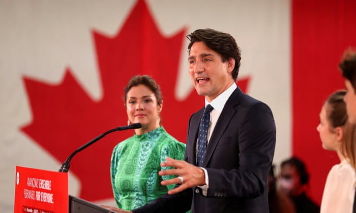 Justin Trudeau is the Prime Minister of Canada for the third time