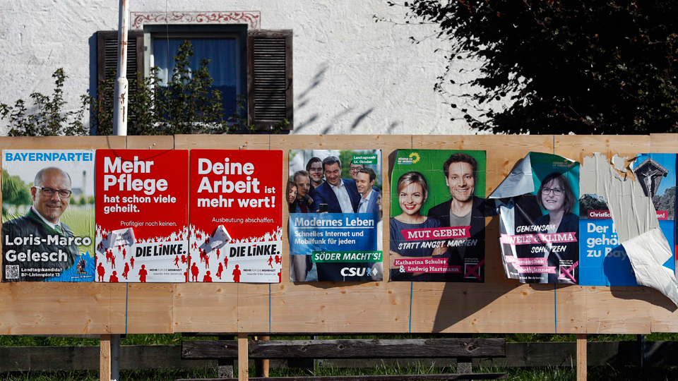 Elections in Germany today
