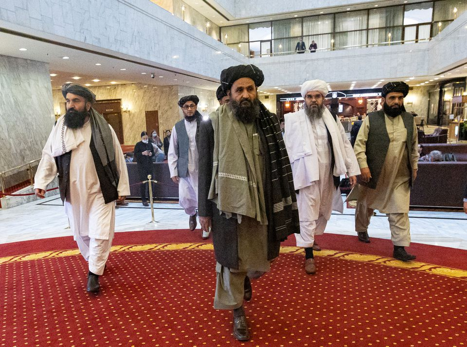 Who are the men leading the Taliban's new government?