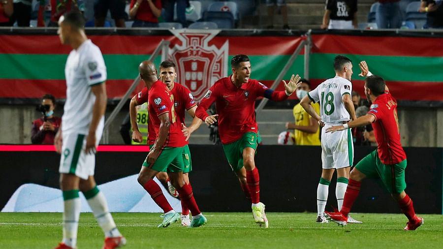 Cristiano Ronaldo becomes highest international goalscorer in history.