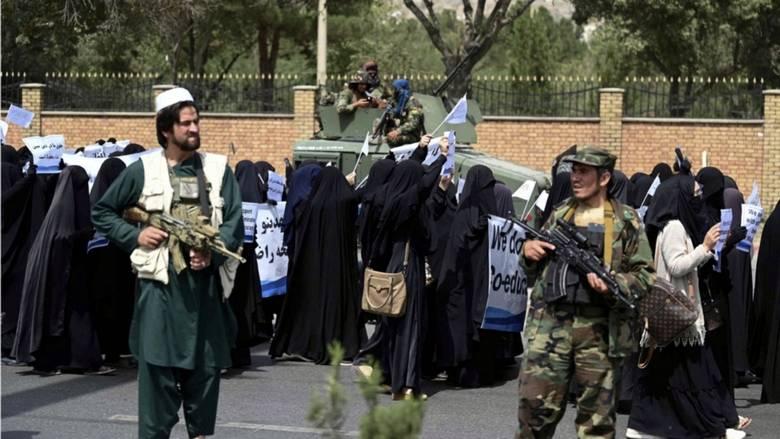 Afghan women should not work alongside men: Taliban leader