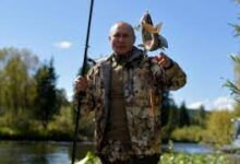 Photo of Putin spent several days hiking and fishing in Siberia