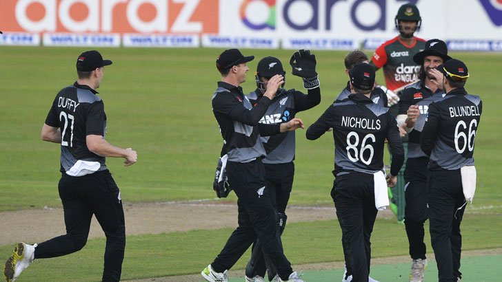 New Zealand beat Bangladesh by 27 runs in final T20, Tigers claim trophy