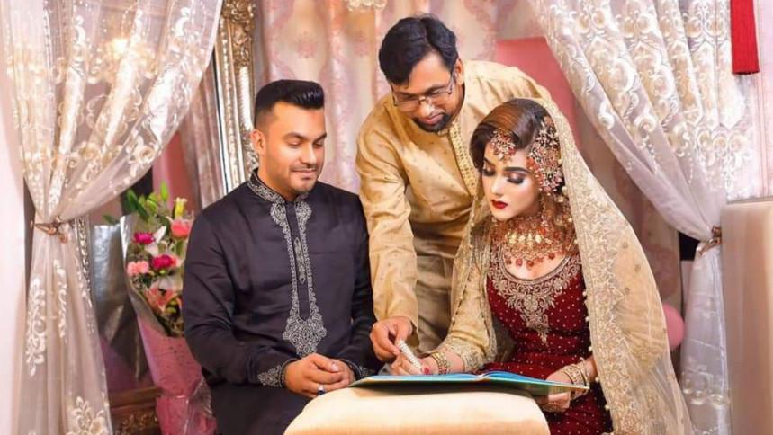 Mahiya Mahi has got married for the second time
