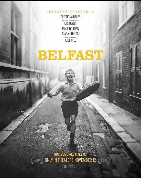 A black and white film 'Belfast' wins TIFF People's Choice Award