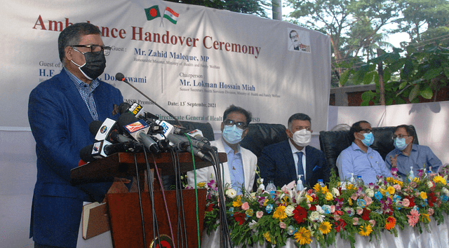 India stands by Bangladesh first in any difficult time: Health Minister