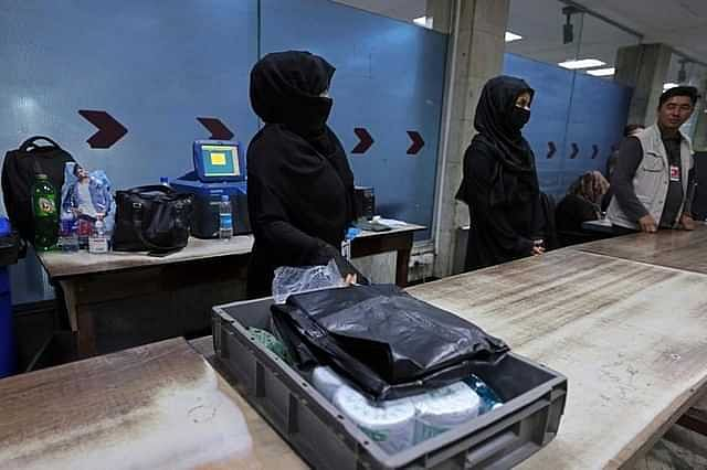 12 brave women have returned to their jobs at Kabul Airport
