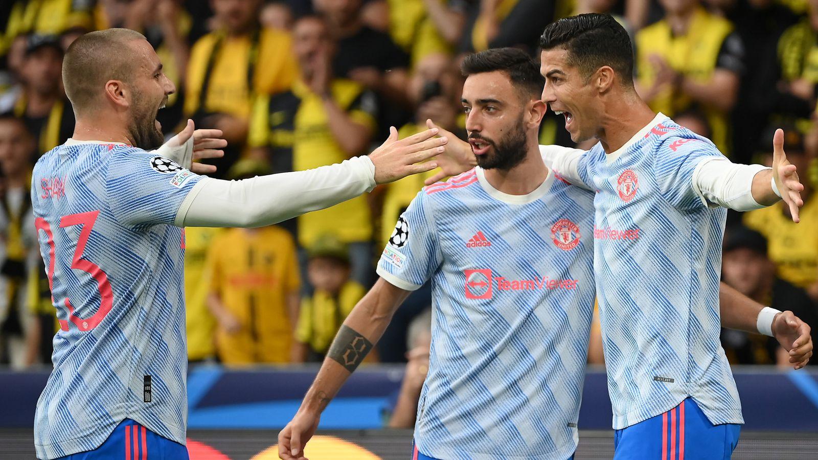 Ronaldo scores but Man United beaten 2-1 at Young Boys