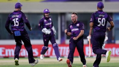 Photo of Scotland beat Oman by 8 wickets to qualify for Super 12